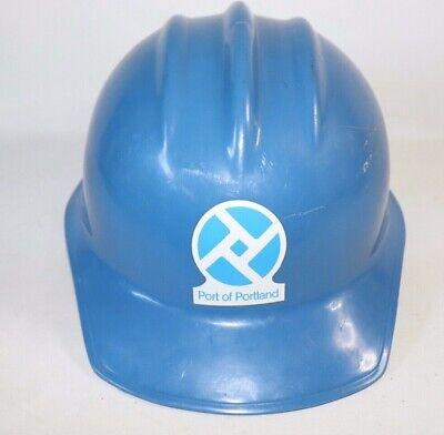 Vtg Bullard Hard Boiled Ironworker Blue Safety Hard Hat Suspension Mo. 303