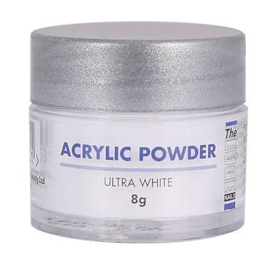 The Edge Acrylic Powders 8g ultra white nails tips natural nail strength
