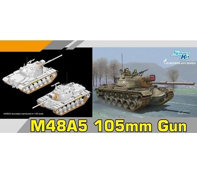 Dragon 1/35 M48A5 Patton 105mm Gun for sale  Shipping to Canada