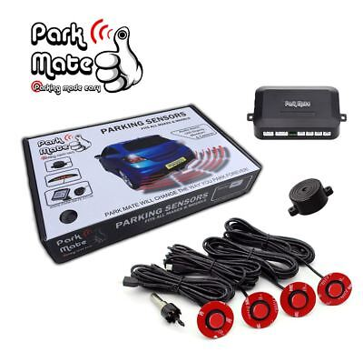 Chevrolet All Models Park Mate PM320 Red Flush Fit Front Parking Sensors Audio