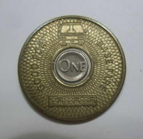 LOS ANGELES CA GOOD FOR TOKEN BUS BASE FARE GFT
