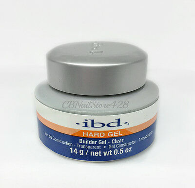 (IBD Builder Gel CLEAR 0.5oz/14g- ideal for tip overlays and sculpting)