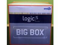 Emagic Logic Big Box Loigc 5 for Windows or Mac