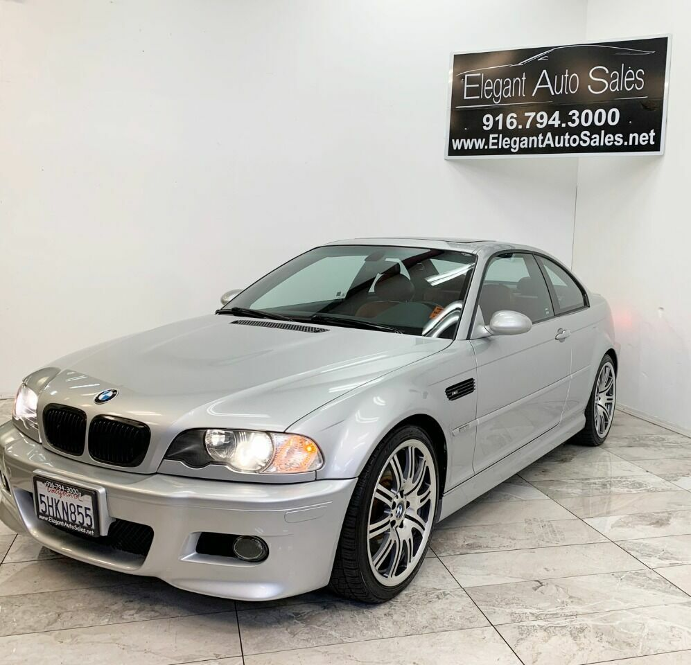 2004 BMW M3 Base 2dr Coupe