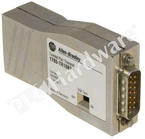 Allen Bradley 1785-TR10BT /A Twisted Pair Transceiver AUI to Twisted Pair Qty