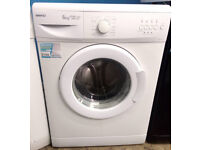 a740 white beko 6kg 1500spin A+AA washing machine comes with warranty can be delivered or collected