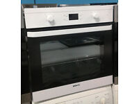 a670 white beko single electric oven comes with warranty can be delivered or collected