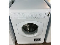 a044 white hotpoint 7kg 1200spin washing machine comes with warranty can be delivered or collected