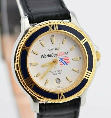 H815 Vintage Casio Soccer USA 1994 World Cup Watch SWC-16 Mod.707 JDM 110.2