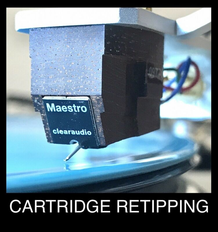 Clearaudio Cartridge Nude 8/18µm Ogura Vital PE Elliptical Diamond Retip Maestro