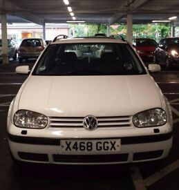 Immaculate Vw Golf estate Fresh M.O.T (F.S.H) Only 78K Milles