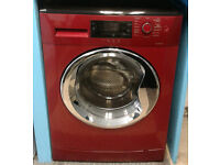 c687 red beko 9kg 1400spin A** rated washing machine come with warranty can be delivered