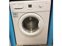 b679 white beko 7kg A*AA 1600spin washing machine comes with warranty can be delivered or collected