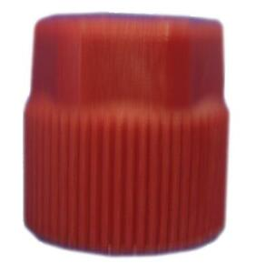 R134A CHARGE PORT CAP RED HIGH SIDE 514-421