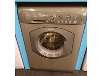 b377 graphite hotpoint 7kg 1400 spin washing machine comes with warranty can be delivered