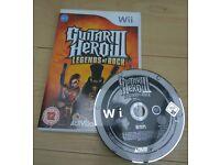Wii Guitar Hero III