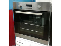 b713 stainless steel lamona single electric oven comes with warranty can be delivered or collected