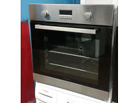 a713 stainless steel lamona single electric oven comes with warranty can be delivered or collected