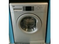 a157 silver beko 7kg 1400spin A** rated washing machine come with warranty can be delivered