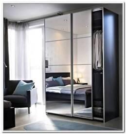 Ikea pax wardrobe.