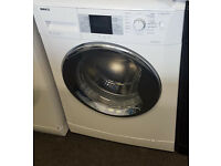 l248 white & chrome beko 8kg 1400spin washing machine comes with warranty can be delivered