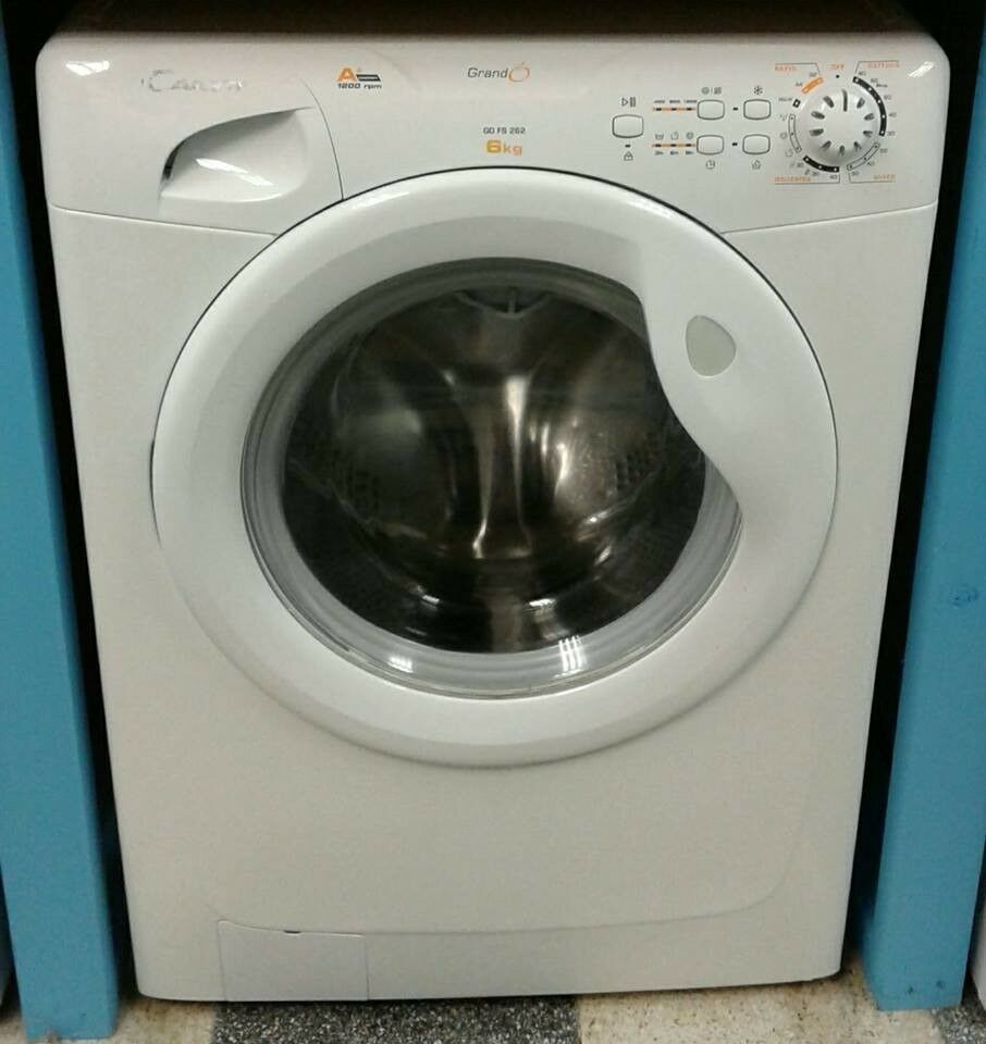 I767 White Candy 6kg 1200spin A Rated Washing Machine Come With