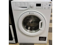 f760 white hotpoint 7kg 1400spin A+ washing machine come with warranty can be delivered or collected