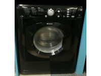d192 black hotpoint 7kg 1400spin washer dryer comes with warranty can be delivered or collected