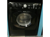 L192 black hotpoint 7kg 1400spin washer dryer comes with warranty can be delivered or collected