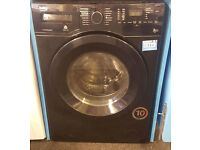 Z76 black beko 7+5kg 1400spin washer dryer comes with warranty can be delivered or collected