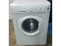 m490 white hotpoint 6kg 1200spin washing machine comes with warranty can be delivered or collected