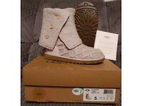 Genuine UGG Lattice Cardy Boots BNIB