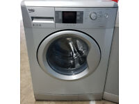 e461 silver beko 8kg 1200spin washing machine comes with warranty can be delivered or collected