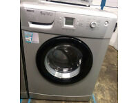 a741 silver beko 6kg 1600spin A+AA washing machine comes with warranty can be delivered or collected