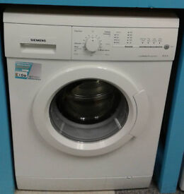 R711 white siemens 7kg 1400spin washing machine comes with warranty can be delivered or collected