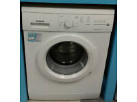 c711 white siemens 7kg 1400spin washing machine comes with warranty can be delivered or collected
