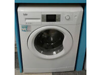 b665 white beko 9kg 1200spin A+++ rated washing machine comes with warranty can be delivered