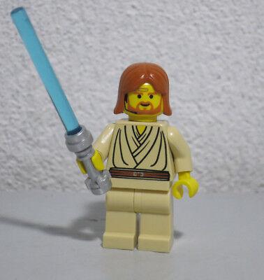 Obi-Wan Kenobi Young Headset 7143 Star Wars Lego Minifigure mini (Lego Obi Wan Kenobi)