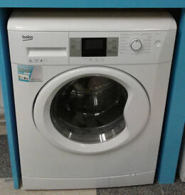 e665 white beko 9kg 1200spin A+++ rated washing machine comes with warranty can be delivered