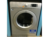 a135 silver indesit 8kg&6kg 1400spin A rated washer dryer new with manufacturers warranty