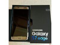 Samsung Galaxy S7 Edge Gold Unlocked Only £399 & 1 YEAR Warranty / Door Buster Deal