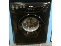 j130 black bush 6kg 1200spin washing machine comes with warranty can be delivered or collected