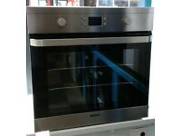 1f065 stainless beko single electric oven comes with warranty can be delivered or collected