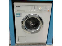 c698 white miele 5kg 1200spin washing machine comes with warranty can be delivered or collected