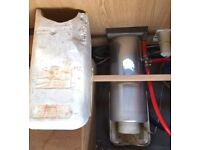 carver cascade 2 water heater caravan campervan gas and electric
