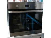 g065 stainless steel beko single electric oven comes with warranty can be delivered or collected