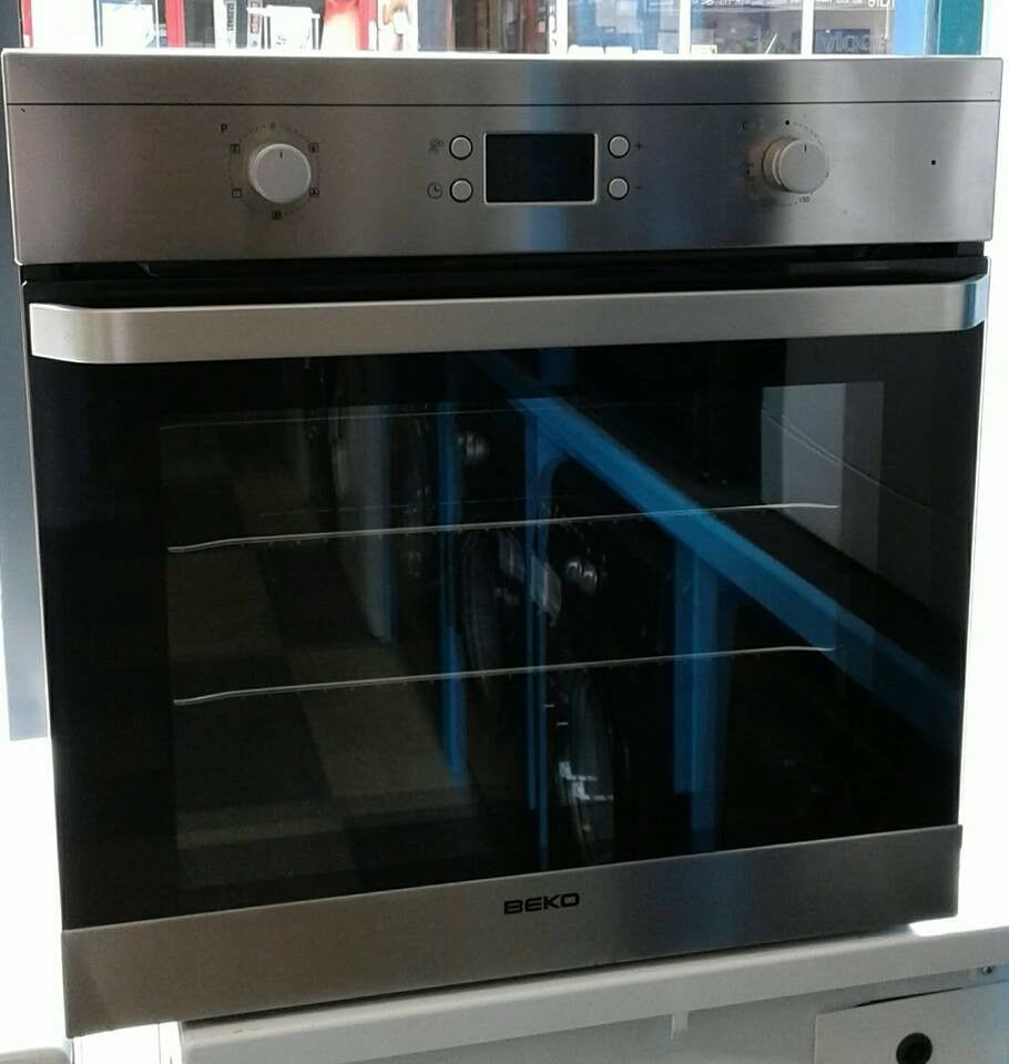E065 Stainless Steel Beko Single Electric Oven Come With Warranty Collection Ovens Lamona Fan Assisted Can Eb Delivered Or Collected