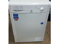 l727 white indesit 7kg condenser dryer comes with warranty can be delivered or collected