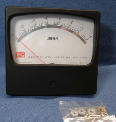 Keithley Instruments 461 Amperes Panel Meter Fs 200 Ua Dc 42b-144br5