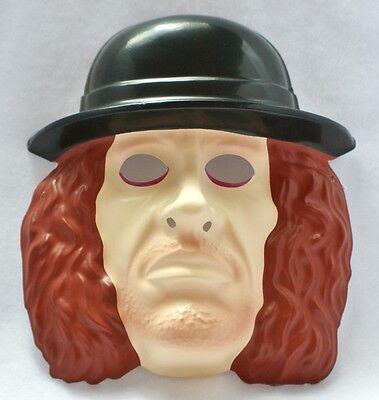 WWF The Undertaker Vintage Halloween Mask 1993 WWE Wrestling WCW PVC - Undertaker Halloween